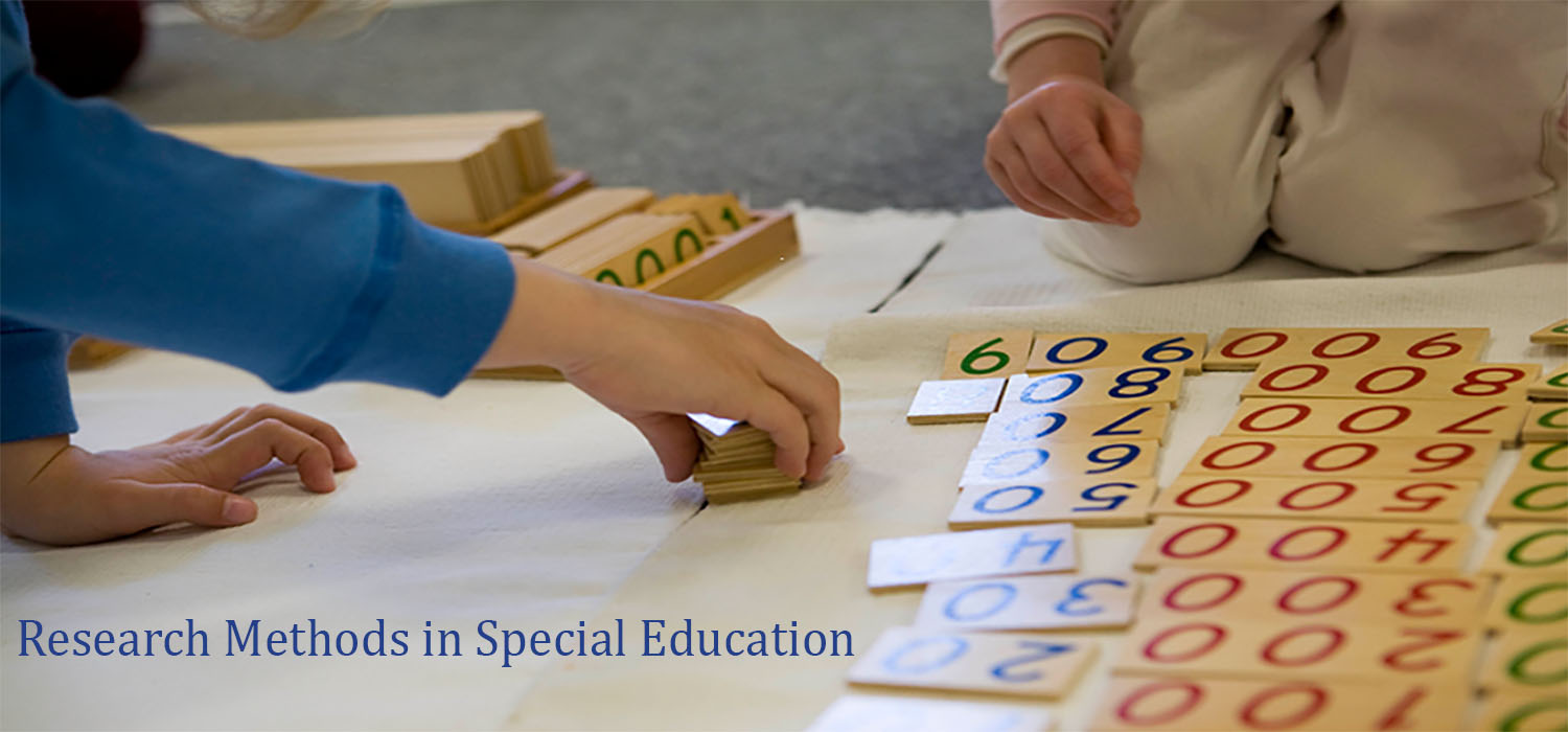 Course Image Research Methods in Special Education